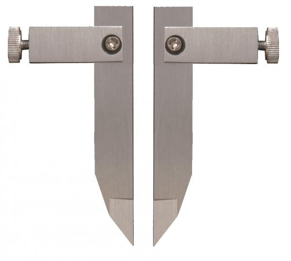Messeinsätze zur Aussenmessung, Länge 60 mm