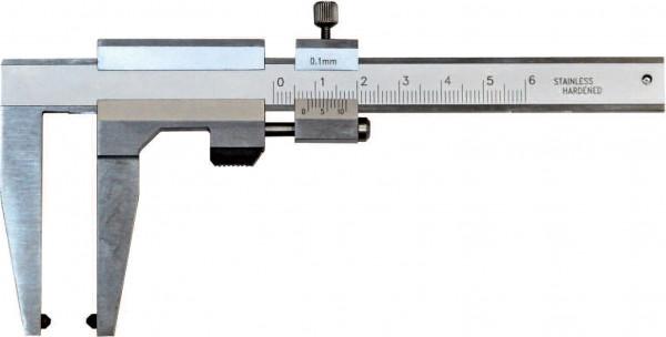 Bremsscheiben-Prüflehre 0 - 100 mm