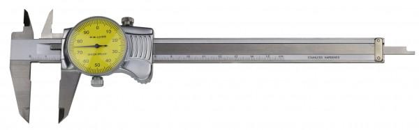 Uhren-Messschieber, 150 x 0,01 mm, DIN 862, TOP