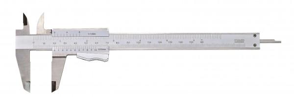 Taschen-Messschieber, 150 mm, mit Momentfeststellung, DIN 862