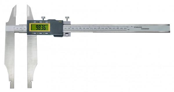 Digital-Werkstatt-Messschieber, 1000 x 200 mm, mit Messerspitzen, IP 65