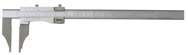 Präzisions-Werkstatt-Messschieber, 1000 x 150 mm, ohne Spitzen, DIN 862