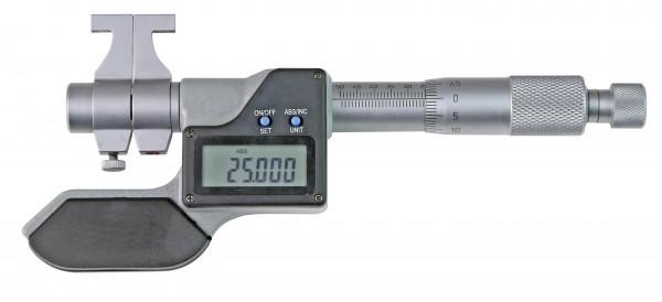 Digitale Innen-Messschraube 75 - 100 mm mit gewölbten Messflächen