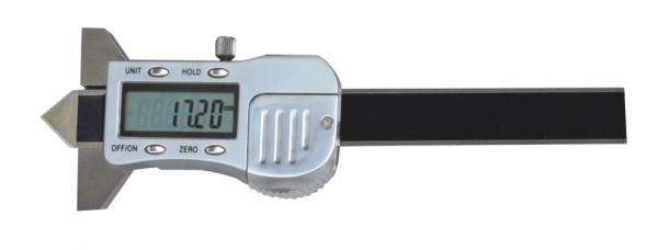Digital-Messschieber 12 x 50 mm, zur Messung von Absenkung 90°, 3 V