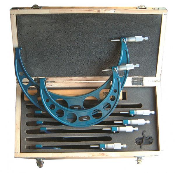 Bügelmessschraubensatz 150 - 300 mm, DIN 863