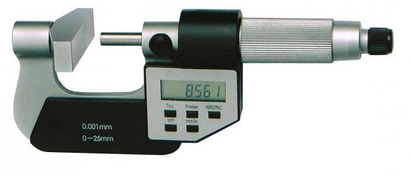 Digital-Bügelmessschraube 25 - 50 mm mit großem Amboss