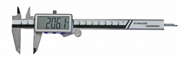 Digital-Taschen-Messschieber, 150 mm, extra grosse Anzeige, DIN 862
