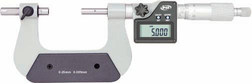 Digital-Universal-Bügelmessschraube 50 - 75 mm mit verschiebbarem Amboss