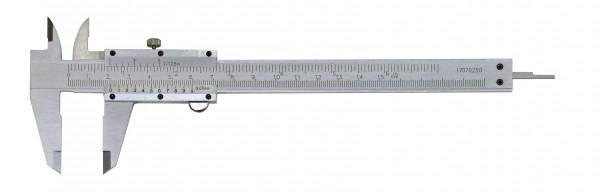 Taschen-Messschieber, 150 mm, mit Feststellschraube