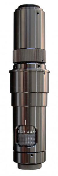 Mono Video Mikroskop Vergrößerung 0,75x - 5x