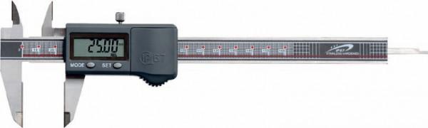 Digital-Taschen-Messschieber, 300 mm, IP 67, mit HM-Messflächen