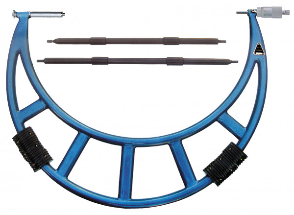 Bügelmessschrauben mit großem Messbereich 1000 - 1200 mm und Großtrommel