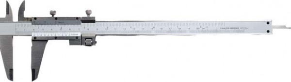 Taschen-Messschieber, 300 mm, mit Feineinstellung
