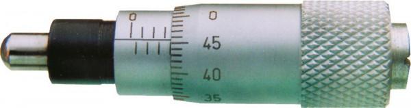 Einbau-Messschrauben, 0 - 6,5 mm, DIN 863
