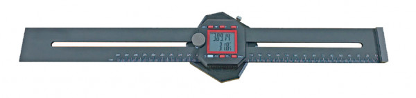 Digital marking gauge with digital protractor