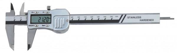 Digital-Taschen-Messschieber, 150 mm, 3 V, Metallgehäuse, DIN 862