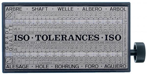 ISO- Toleranzschlüssel Tolerator