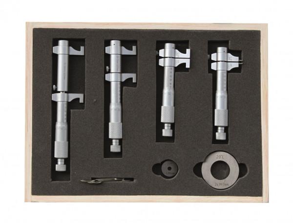 Innen-Messschrauben-Satz 5 - 100 mm mit gewölbten Messflächen